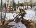 Plein Air Painting - Legal Alberta; promise of spring