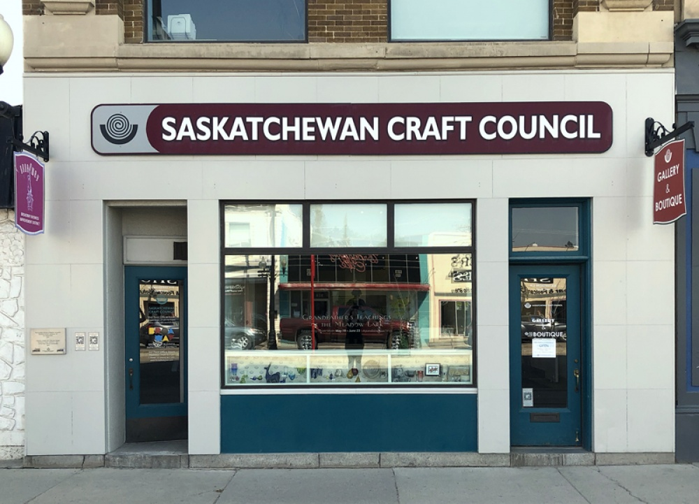 The Saskatchewan Craft Council is located at 813 Broadway avenue. Please drop in to see the Affinity Art Gallery and the Craft council Gift Shop.